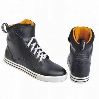 bottes moto icon 1000 elsinore,chaussures moto rouge,bottes moto atv
