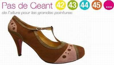 chaussure grande taille