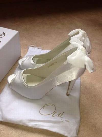 chaussure ivoire point mariage,chaussure mariee ivoire