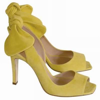 chaussures jaunes pas cher. Black Bedroom Furniture Sets. Home Design Ideas