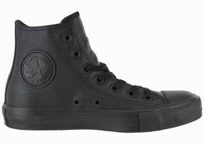 chaussure style converse femme